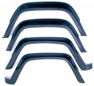 Omix - Omix Fender Flare Kit - 4 Piece - 11605-01