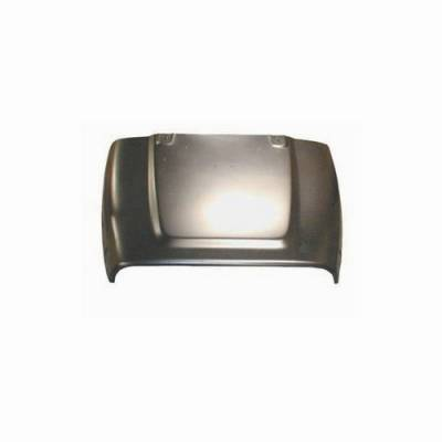 Omix - Omix Hood without Spray Nozzle Holes - Steel - 12003-07