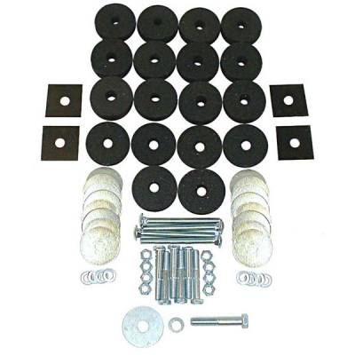 Omix - Omix Body Mounting Kit - 12201-01