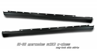 OptionRacing - Mercedes-Benz C Class Option Racing Side Skirts - 29-32111