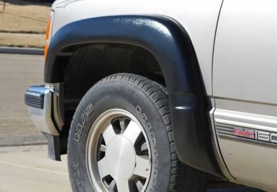 Prestige - Chevrolet K1500 Pickup Prestige Complete EX Wide Style Textured Fender Flare Set - EX101T