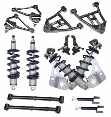RideTech by Air Ride - Pontiac Lemans RideTech Level 2 CoilOver System - Single Adjustable - 11230210