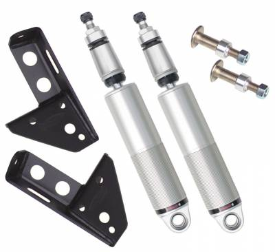 RideTech by Air Ride - Chevrolet Monte Carlo RideTech Single Adjustable Front Shock Kit - Bolt-On - 11320501