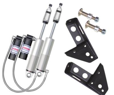 RideTech by Air Ride - GMC C1500 Pickup RideTech Triple Adjustable Front Shock Kit - Bolt-On - 11370511
