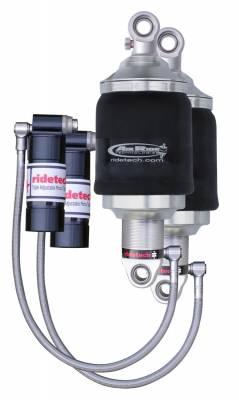 RideTech by Air Ride - GMC Sierra RideTech Triple Adjustable Front ShockWave Kit - 11383011