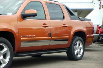ICI - Chevrolet Avalanche ICI Rocker Panels - 8PC - T2211-304M