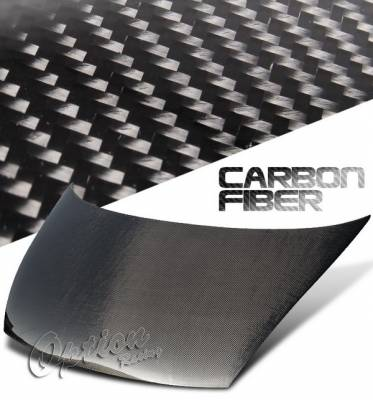 OptionRacing - Honda Civic Option Racing Carbon Fiber Hood - NRG-CH-H042