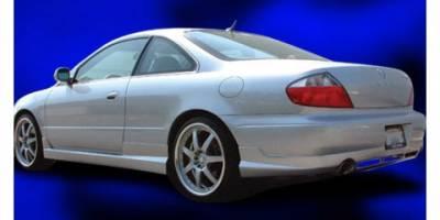 Pure - Acura CL Pure P-Style Rear Bumper Lip - P28009