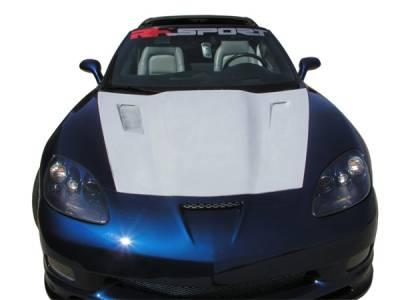 RKSport - Chevrolet Corvette RKSport Violator Supercharger Hood - 16011002