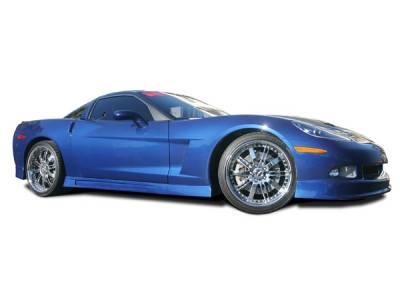 RKSport - Chevrolet Corvette RKSport Ground Effects Package - 16012000