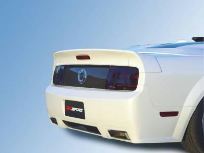RKSport - Ford Mustang RKSport Carbon Fiber Center Taillight Filler with No Holes - 18010245