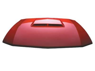RKSport - Ford Mustang RKSport Ram Air Hood - 18011000