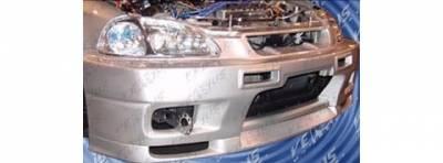 Pure - Honda Civic Pure Skyline Style Front Bumper - P44772