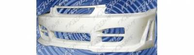 Pure - Honda Civic Pure Opium Style Front Bumper - P44782