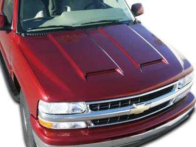 RKSport - Chevrolet Silverado RKSport Ram Air Hood - 29011000