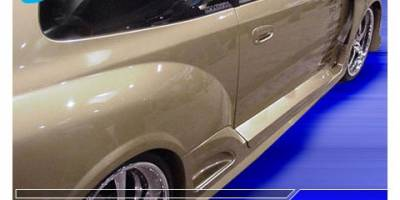 Pure - Honda Civic Pure Super Street Style Wide Style Side Skirts - P88455-6