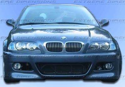 OEType - M3 Style Front Bumper - Plastic