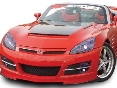 RKSport - Saturn Sky RKSport Ram Air Hood with Carbon Fiber Blister - 32011010