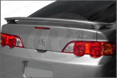 Restyling Ideas - Acura RSX Restyling Ideas Factory 2-Post Style Spoiler - 01-ACRS02F