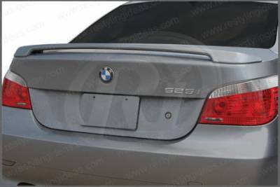 Restyling Ideas - BMW 5 Series Restyling Ideas Factory 2-Post Style Spoiler - 01-BM5S04F2P