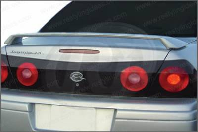 Restyling Ideas - Chevrolet Impala Restyling Ideas Factory 2-Post Style Spoiler - 01-CHIM00F