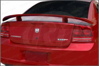 Restyling Ideas - Dodge Charger Restyling Ideas Factory Daytona Style Spoiler - 01-DOCH06FDA