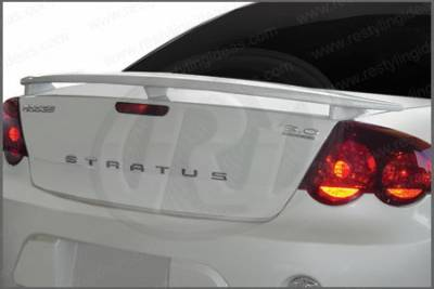 Restyling Ideas - Dodge Stratus 2DR Restyling Ideas Factory 3-Post Style Spoiler - 01-DOST01F2