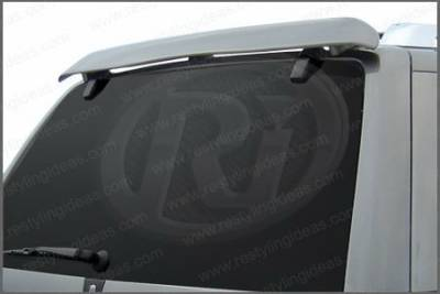 Restyling Ideas - Ford Explorer Restyling Ideas Factory Deflector Style Spoiler - 01-FOEX02F
