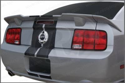 Restyling Ideas - Ford Mustang Restyling Ideas Racing Style Spoiler - 01-FOMU05F3