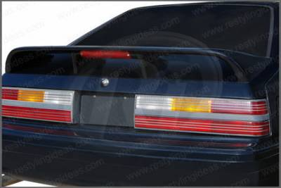 Restyling Ideas - Ford Mustang Restyling Ideas Cobra Style Spoiler - 01-FOMU79CH