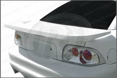 Restyling Ideas - Ford Mustang Restyling Ideas Black Widow Style Spoiler - 01-FOMU94BW