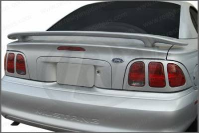 Restyling Ideas - Ford Mustang Restyling Ideas Factory Style Spoiler - 01-FOMU94F