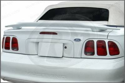 Restyling Ideas - Ford Mustang Restyling Ideas Cobra Factory Style Spoiler - 01-FOMU94FC