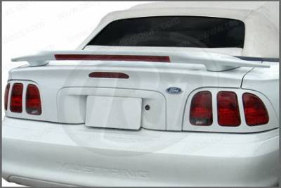 Restyling Ideas - Ford Mustang Restyling Ideas Factory Cobra Style Spoiler with LED - 01-FOMU94FCL