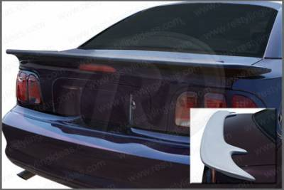 Restyling Ideas - Ford Mustang Restyling Ideas Saleen Style Spoiler - 01-FOMU94SS