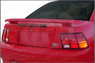 Restyling Ideas - Ford Mustang Restyling Ideas Factory 35th Anniversary Style Spoiler - 01-FOMU99F35