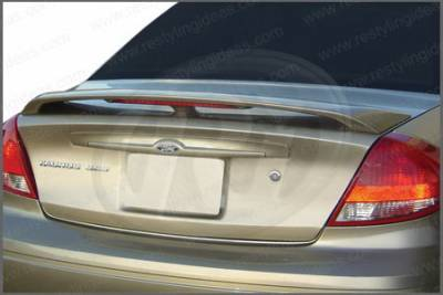 Restyling Ideas - Ford Taurus Restyling Ideas Factory Style Spoiler with LED - 01-FOTA00FL