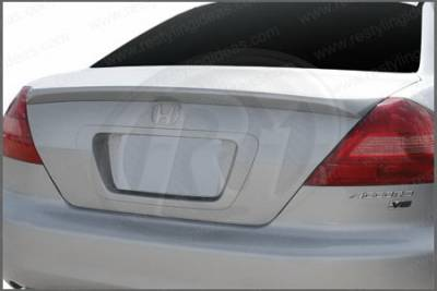Restyling Ideas - Honda Accord 2DR Restyling Ideas Factory Lip Style Spoiler - 01-HOAC03F2LM