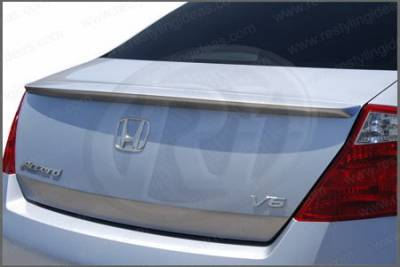 Restyling Ideas - Honda Accord 2DR Restyling Ideas Factory Lip Style Spoiler - 01-HOAC08F2LM
