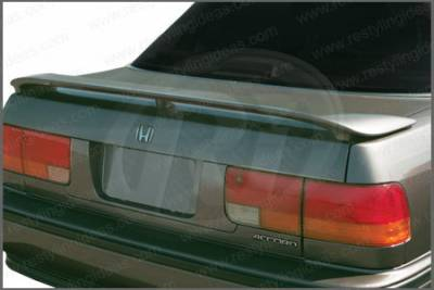 Restyling Ideas - Honda Accord 2DR & 4DR Restyling Ideas Factory Style Spoiler with LED - 01-HOAC90FL