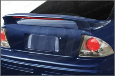 Restyling Ideas - Honda Accord 2DR & 4DR Restyling Ideas Mid Spoiler with LED- 3PC - 01-HOAC94C3ML