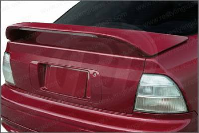 Restyling Ideas - Honda Accord 2DR & 4DR Restyling Ideas Mid Wing Spoiler with LED - 01-HOAC94ML