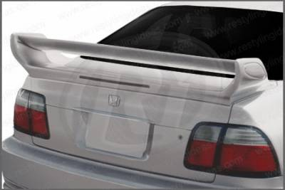 Restyling Ideas - Honda Accord 2DR & 4DR Restyling Ideas GTR Style Spoiler with LED - 01-HOAC96GTL