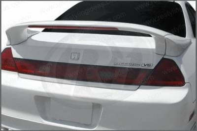 Restyling Ideas - Honda Accord 2DR Restyling Ideas Mid Spoiler with LED- 3PC - 01-HOAC98C23L