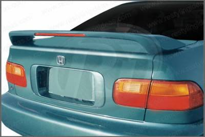 Restyling Ideas - Honda Civic 2DR Restyling Ideas Spoiler - 01-HOCI92F2L