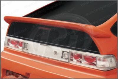 Restyling Ideas - Honda CRX Restyling Ideas Whale Tail Style Spoiler without Wiper Hole - 01-HOCR88CWN