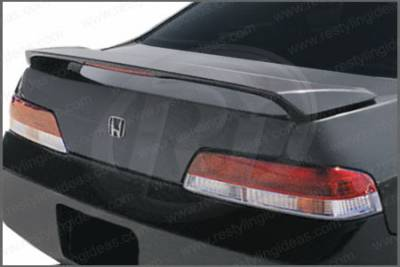 Restyling Ideas - Honda Prelude Restyling Ideas Factory Style Spoiler with LED - 01-HOPR97FL