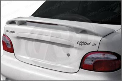 Restyling Ideas - Hyundai Accent 2DR Restyling Ideas Factory Style Spoiler with LED - 01-HYAC00F2L