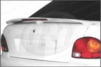Restyling Ideas - Hyundai Accent 2DR Restyling Ideas Factory Style Spoiler with LED - 01-HYAC95F2L