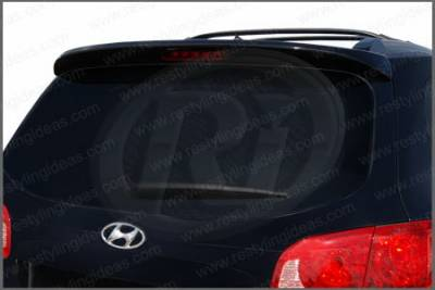 Restyling Ideas - Hyundai Santa Fe Restyling Ideas Factory Style Spoiler - 01-HYSA07F
